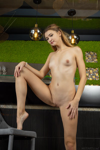 Ivi Rein Makes Intimate View Of Her Shaved Pussy