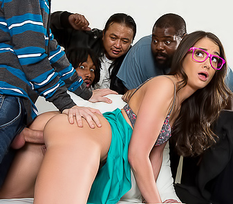 Gia Paige Gangbang Party